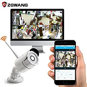 Smart Remote Auto-Pair HD 960p Wireless Security Camera System 8 Channel WIFI NVR Kits with 8 HD Outdoor Wireless IP Cameras (Built-in Router, 1.3MP Camera, 1TB HDD) from Shenzhen Zgwang Electronic Technology Co. Ltd.