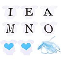 LnLyin I Am One Banner Baby Boy Girl 1st Birthday Party Bunting Banner Baby Shower First Year Bunting PhotoBooth Garland