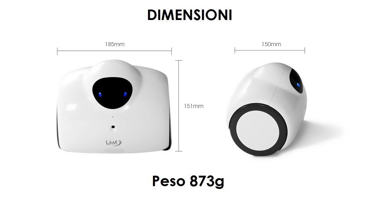 Dron para videovigilancia Moderno Blanco HD LKM Security lkm-herob Hero