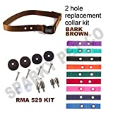 Cheap PetSafe RFA 529 Accessory Kit & 3/4″ Strap with 2 Holes 1.25″ Apart- Many Colors to Choose from (Bark Brown)