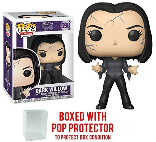 Funko Pop! TV: Buffy the Vampire Slayer 25th Anniversary - Dark Willow Vinyl Figure (Bundled with Pop BOX PROTECTOR CASE)