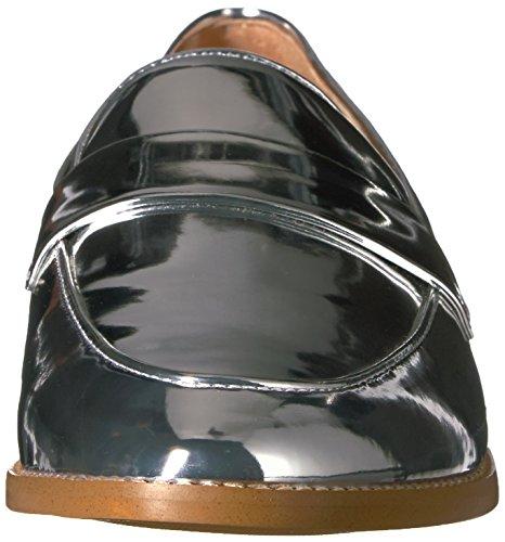 Silver Loafer Franco Hudley Women's Sarto Un0C1qpx