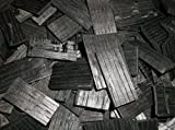 Corbett's American White Oak, Chipped and Deep Charred. Ready to use. Two Ounces