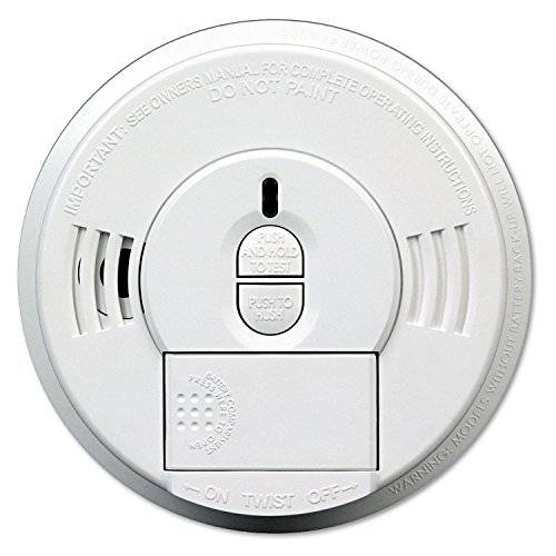 Kidde Front-Load Battery-Operated Smoke Alarm w/ Mounting Bracket - Kidde Front Load Battery