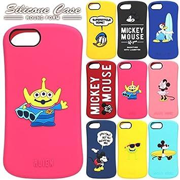 e76b23a2c6 【カラー:ドナルドダック/イエロー】iPhone8 iPhone7 iPhone6S iPhone6 ディズニー シリコンケース シリコン