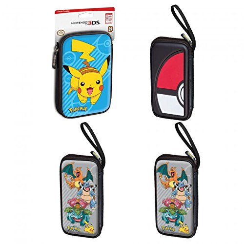 - RDS PXL515-NEW2 New 3DS XL Pokemon Game Traveler Case Assorted