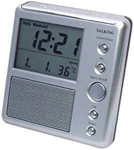 Talking Thermometer Clock
