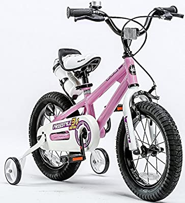 cage choice of boys blue or girl pink Kids childs cycle bike water bottle