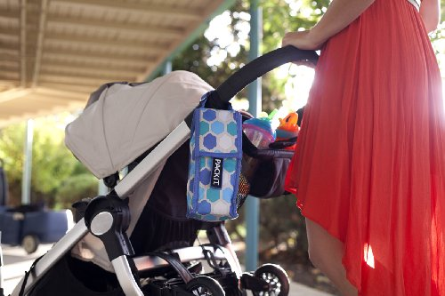 PkIt Double Baby Bottle Bag - Floral by PackIt (Image #3)