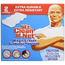 Mr. Clean Extra Power Magic Eraser, 2 Count- Packaging May Vary