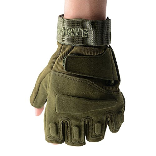 UNAKIM--Men Fitness Gym Half Finger Gloves Weight Lifting Exercise Sports Glove - Stores Merced Mall