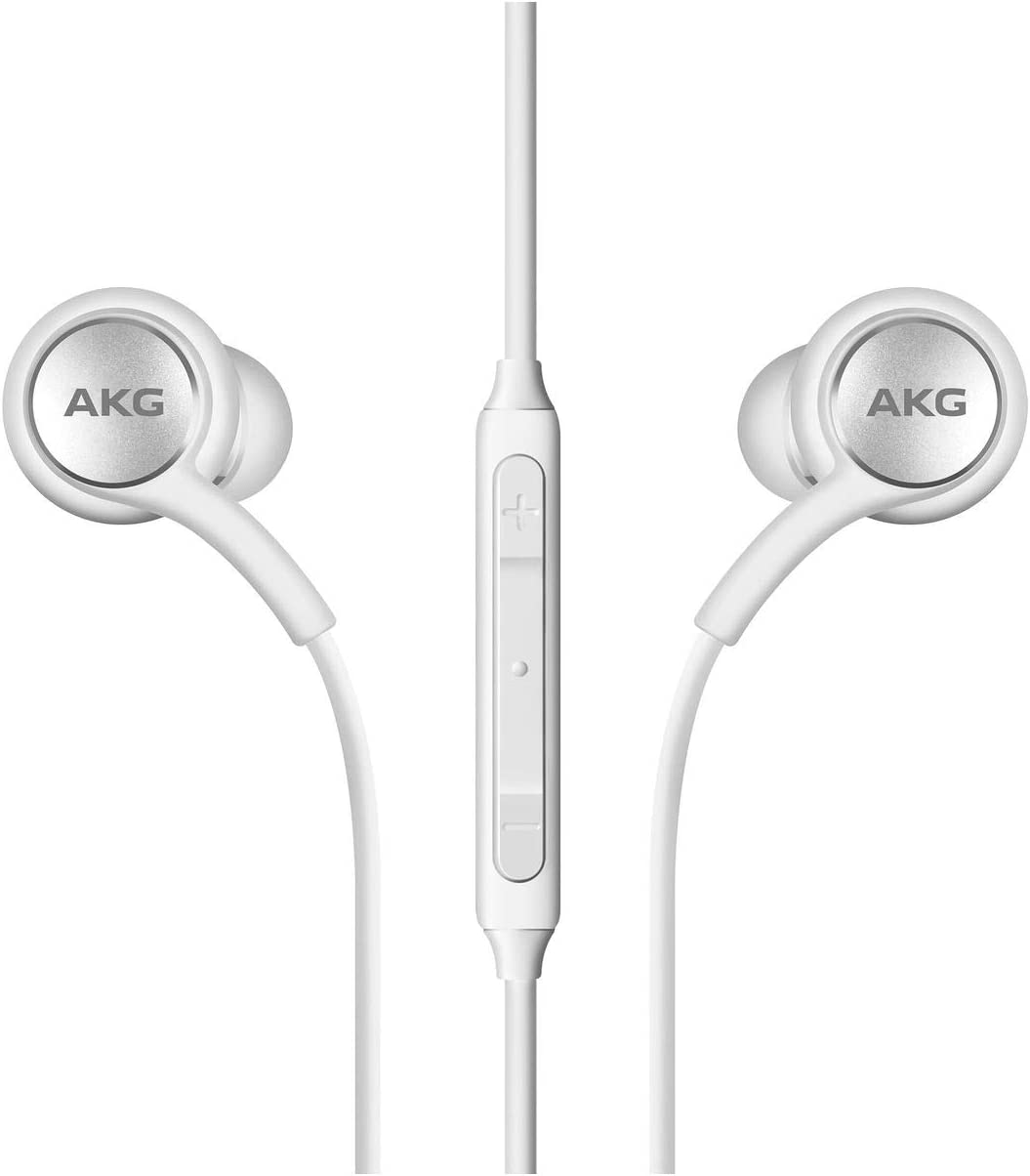 2019 Stereo Headphones For Samsung Galaxy S10 S10e S10 Plus Designed By Akg With Microphone White Electronics