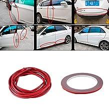 Sedeta Car Door Edge Guards Trim Rubber Seal Protector Guard Strip Car Protection 4.5 Meters Fit for Most Car