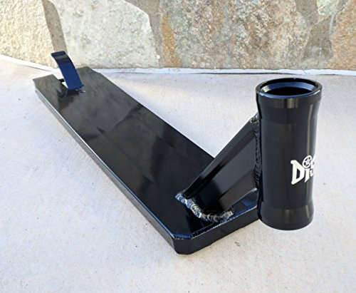 DIS Street Scooter Deck - Black 5.0 inches wide - 21.0 inches long by DropIn Scooters