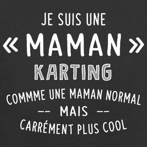 une maman normal karting - Femme T-Shirt - Noir - M