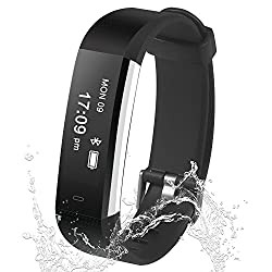Ulvench Fitness Tracker, Step Counter Watch with Sleep Monitor, Pedometer Smart Bracelet as Calorie Counter Waterproof Activity Tracker for Android & iOS Phone