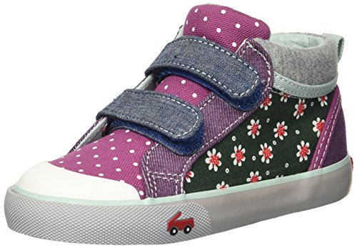 (See Kai Run Girls' Kya Sneaker, Green Floral/Multi, 9.5 M US)