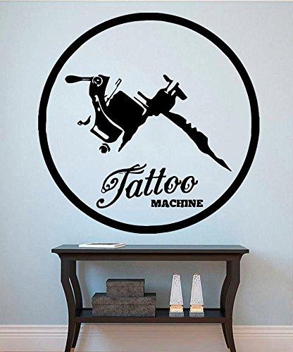 Tattoo Wall Vinyl Decal Tattoo Machine Wall Vinyl Sticker Tattoo Decals Home  Decor Tattoo Salon Design