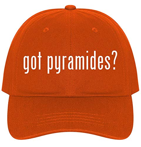 - The Town Butler got Pyramides? - A Nice Comfortable Adjustable Dad Hat Cap, Orange
