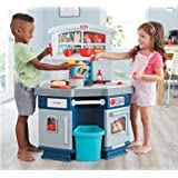 Little Tikes Cook With Me Kitchen in Blue and White