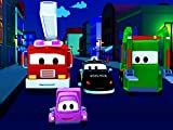 Car Patrol of Car City: Tom The Tow Truck's accident / The Mistery of the Night
