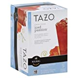 Tazo Sweetened Caffeine Free Herbal Tea Keurig K-Cup Review and Comparison