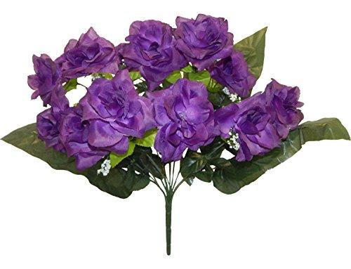 Artificial Fake Silk Daisy Flower Bouquet 1Bunch Green - 3
