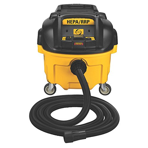 Hepa Vacuum Dustless - DEWALT DWV010 HEPA Dust Extractor with Automatic Filter Cleaning, 8-Gallon