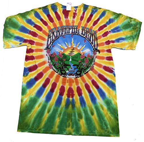 Grateful-Dead-Adult-Tie-Dye-Waterfall-Tee-Shirt