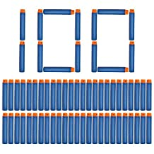 NextX Toy Gun Refill Foam Soft Darts Bullet for Nerf N-strike Elite Series Blasters-100 Pcs