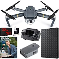 DJI Mavic Pro Quadcopter Drone with 4K Camera and Wi-Fi + Professional Photo & Edit Bundle