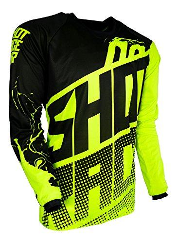 Shot Race Gear Youth Devo Kid Venom Neon Yellow Jersey/Pant Combo - Size Y-XLARGE/24W by Shot Race Gear (Image #1)