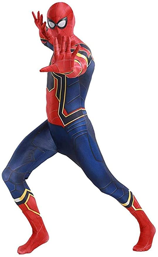 GWNJSSG Disfraces De Spiderman Niño Ultimate Basic Morphsuit ...
