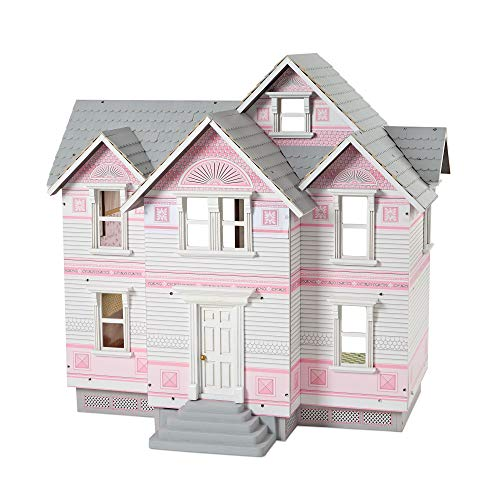 """Melissa & Doug Victorian Dollhouse (Detailed Illustrations, Sturdy Wooden Construction, 29.5"""" H x 28"""" W x 18"""" L, Great Gift for Girls and Boys - Best for 6, 7, 8 Year Olds and Up) from Melissa & Doug"""