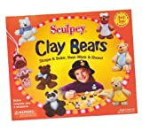 : Sculpey Oven Bake Clay Kit - Bears