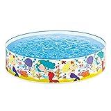 Intex Mermaids by The Sea Kids 6' x 15' Instant Kiddie SnapSet Swimming Pool