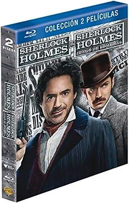 Pack: Sherlock Holmes 1+2 [Blu-ray]: Amazon.es: Robert Downey Jr., Jude Law, Jared Harris, Guy Ritchie, Robert Downey Jr., Jude Law, Bruce Berman: Cine y Series TV