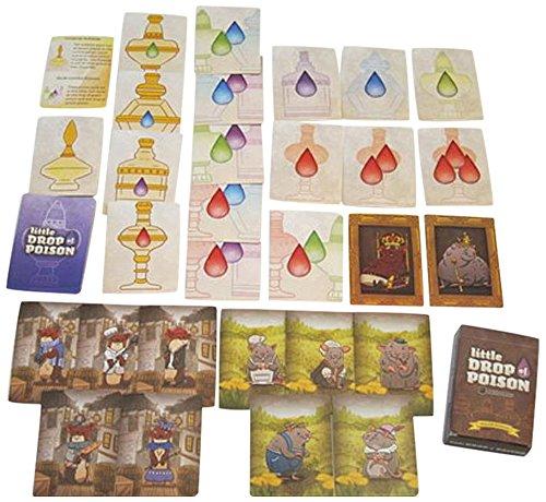 Baksha Games Little Drop of Poison 2Nd Edition Board Games