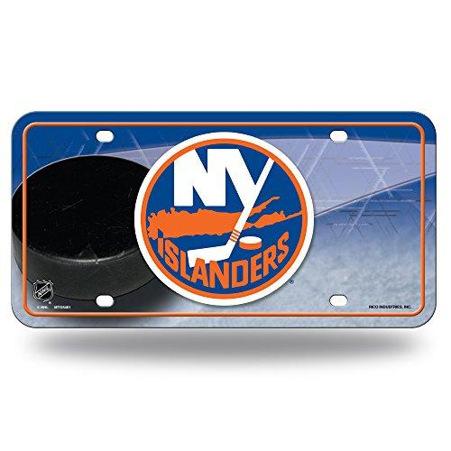 (NHL New York Islanders Metal License Plate)