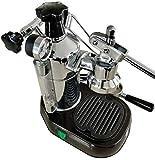 La Pavoni PBB-16 Professional 16 Cup Espresso Lever Machine, 38-Ounce Boiler Capacity, Chrome with Black Base
