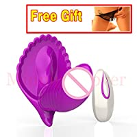 2016 New Wireless Remote Control 20 Speeds Dual Vibration Strapless Strap Vibrator Invisible Vibrating Panties Sex Product