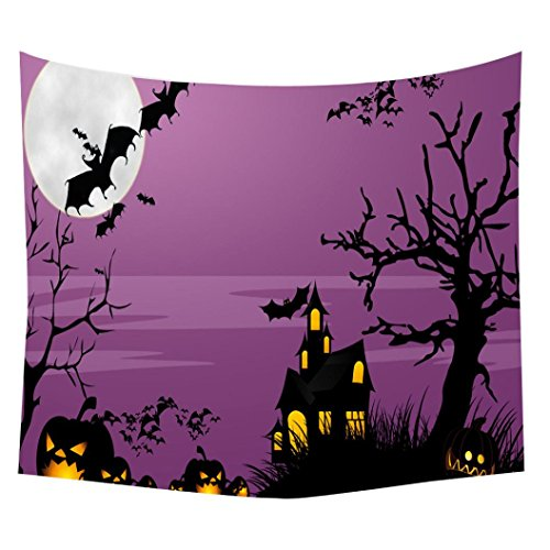 Tapestry ,Beautyvan Fashion Cute Halloween Beach Cover Up Tunic Tapestry Wallhaning Roomdorm Home Decor (150130cm/59.151.2