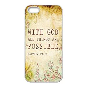 Cool Painting Bible Verse Original New Print DIY Phone Case for Iphone 5,5S,personalized case cover case620328