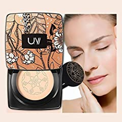 ❥Package including: 1 x makeup foundation Specification: ❥Ingredients: Blueberry Extract, Mineral Water, Aloe Vera Leaf Extract ❥Net content: 20g HOW TO USE: ❥1. Remove translucent film from the mirror ❥2. Open inner lid and remove the protec...