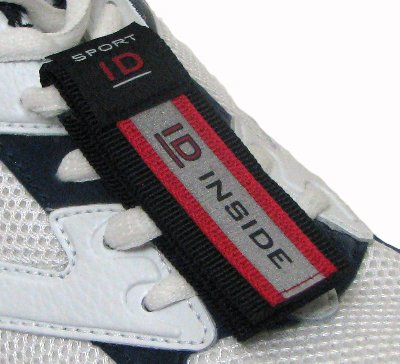 (Vital ID Safety Sport Shoe ID - Red)