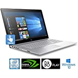 HP Envy High Performance Laptop~17.3 Edge-to-Edge IPS Touchscreen Full HD (1920x1080)~8th Gen Quad-Core i7-8550U~16GB DDR4~1TB HDD~NVIDIA MX150~IR Camera~Backlit~Windows 10 (Certified Refurbished)