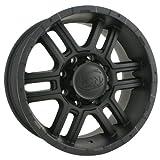 Ion Alloy 179 Matte Black Wheel (18x9''/8x165.1mm)