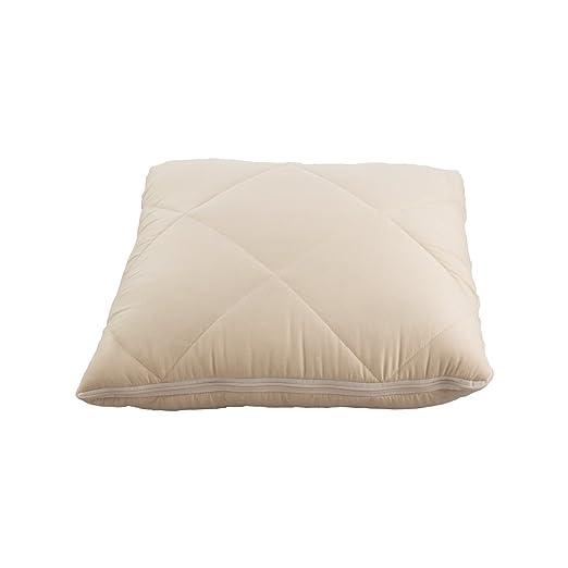 JML quishion 2-in-1 acogedor cálido lujo calidad cómodo combinación colcha/manta y cojín/almohada Beige