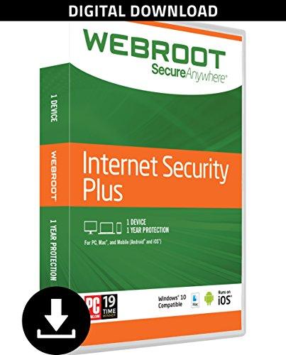 Webroot Internet Security Antivirus Subscription