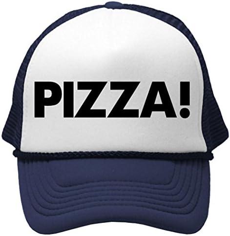 Goozler Pizza Unisex Adult Trucker product image